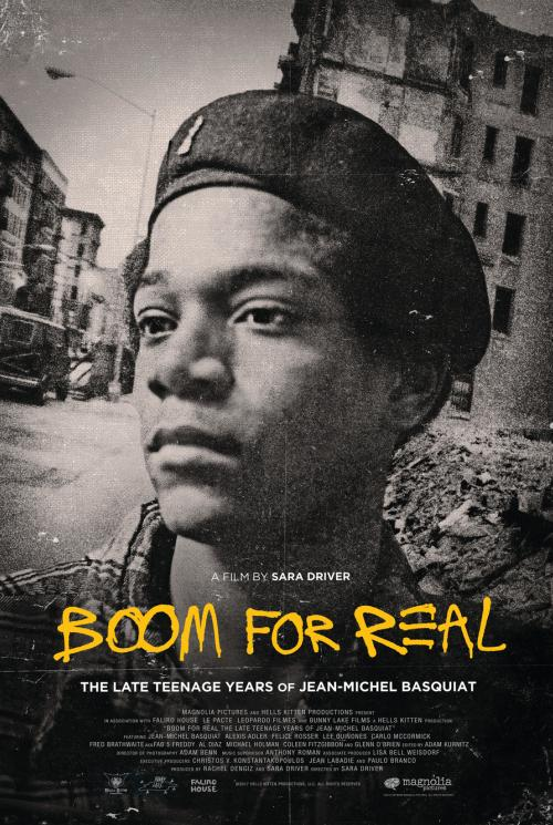Boom for Real Poster