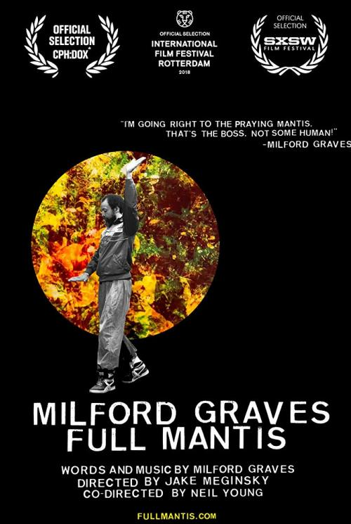 Milford Graves Full Mantis Film Poster